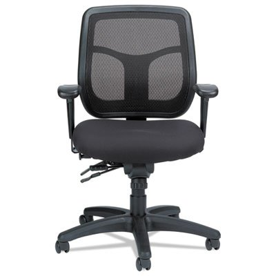 n Mesh Task Chair, Silver Fabric Seat/silver Mesh Back (Eurotech Multifunction Task Chairs)