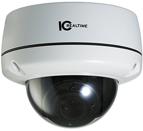 IC Realtime EL-470 Indoor/Outdoor I-Sniper PIXIM Full-Size IR Dome Camera, PIXIM 1/3