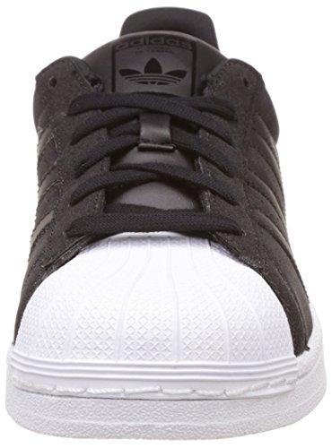 adidas Damen Superstar Sneakers Schwarz / Weiß (Negbas / Negbas / Ftwbla)