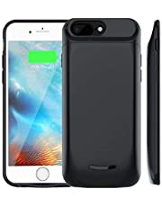 Battery Case for iPhone 6 Plus / 6S Plus / 7 Plus / 8 Plus, Soluser 5000mAh Rechargeable Battery Charging Case, External Charger Case Portable Backup Power Bank Case (5.5 Inch)