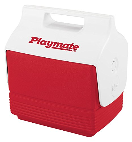 (Igloo 6-Can Capacity Mini Playmate Cooler (Red))
