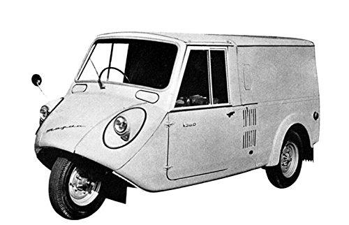 Amazon Com 1961 Mazda K360 Light Van 3 Wheeler Factory Photo