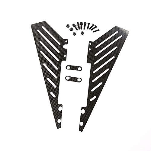 - Part & Accessories Carbon Fiber Side Rail Side Board for 1/5 hpi rovan km Baja 5b rc car Parts
