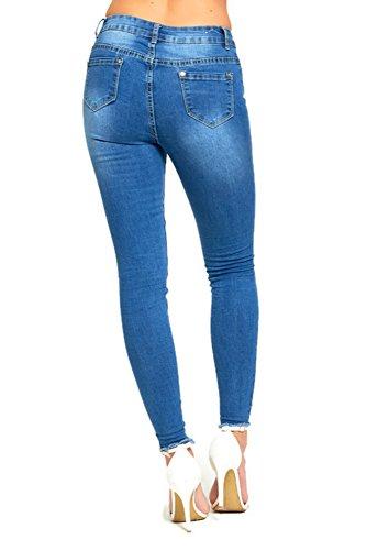 bliss jean Bleu Jeans Femme bleu aUqT0R