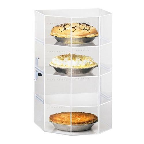 Cal-Mil 252 Pie Case, 13'' W x 12.5'' D x 21.5'' H, Clear by Cal Mil