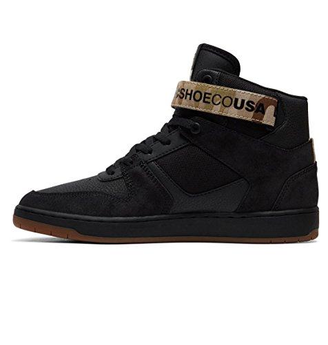 Skateboardschuhe DC Black Pensford Herren Shoes qBBtpvHF