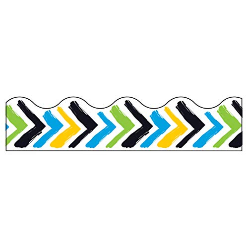 TREND enterprises, Inc. Bold Strokes Chevron Terrific Trimmers, 39'