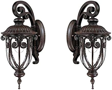 Acclaim VC-2102MM-2 2102MM Naples Collection 1 Wall Mount Outdoor Light Fixture
