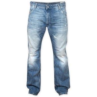 d40696fc Diesel Krooley 881R Jeans 0881R Straight Leg Regular Slim Carrot Fit:  Amazon.co.uk: Clothing