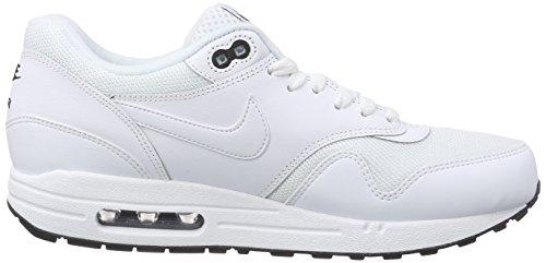 Nike Air Max 1 Essential, Scarpe Sportive da Uomo White/White-black