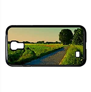 Summer Landscape Nature 5 Watercolor style Cover Samsung Galaxy S4 I9500 Case (Landscape Watercolor style Cover Samsung Galaxy S4 I9500 Case)