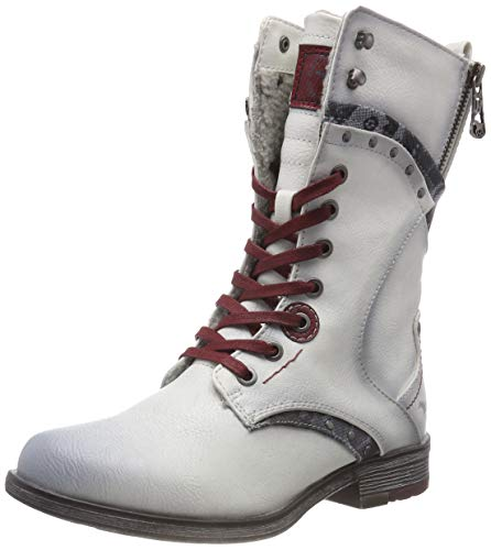 ice Marfil Mujer Botines 203 Mustang Para Stiefelette WnTHqcf