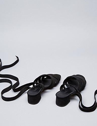 FIND Molly Sandales Femme Noir (Black) yJaX3