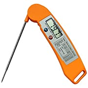 Amazon Lightning Deal 76% claimed: Myrnason Newest Digital Thermometer - Ultimate Cooking Thermometer for All Food, Grill, BBQ and Candy - Innovative & Speedy Meat Thermometer That is Built To Last (Premium Orange)