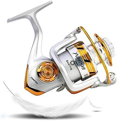GFBNHH Carrete de Pesca Carretes de Spinning Luz, Marina, apretón ...