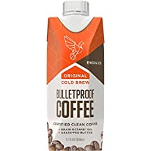 Bulletproof Coffee Cold Brew- Help Promote Energy Without the Sugar Crash, Ketogenic Diet, Original (12 Pack)