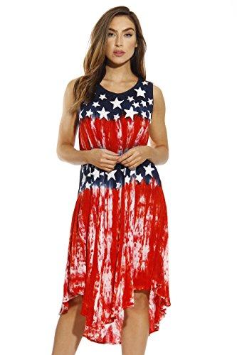 Riviera Sun American Flag Dress / USA Summer Dresses 21622-L