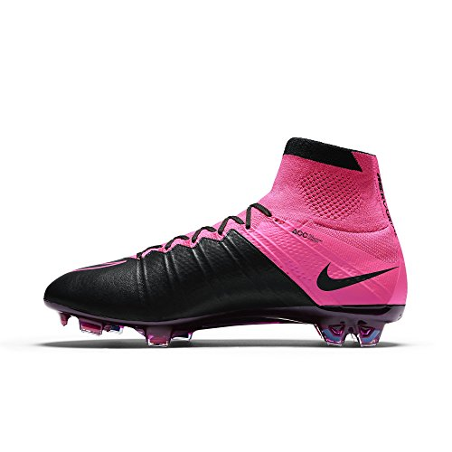 f9dc09a36 NIKE Mercurial Superfly Leather FG 747219-006 Black Pink Men s Soccer Cleats  (Size
