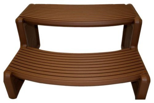Handi Tub (QCA Spas HS2-R Handi Spa Step, 29 by 14-Inch, Red Wood)