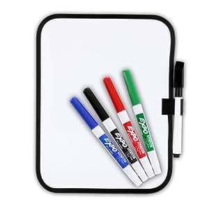 """Amazon.com : Dry-Erase 6"""" x 8"""" Dorm Locker Whiteboard w"""