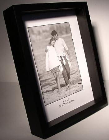 12x12 black wood shadow box frame 1