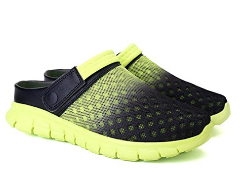 2017 burst mesh cloth half slippers couple models casual shoes men and women large size sandals 1 XiReLY