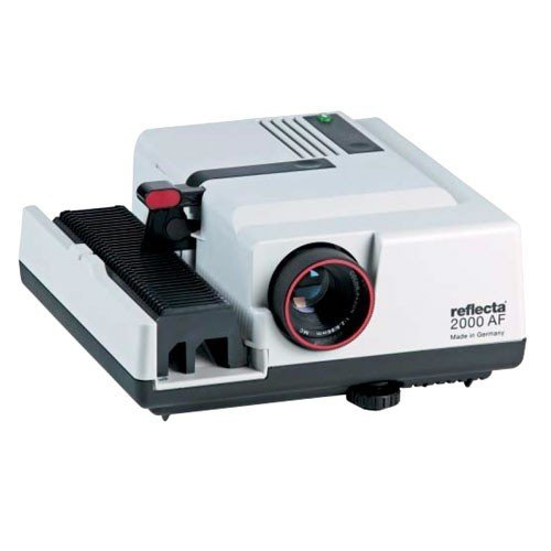 Reflecta 2000 AF Diaprojektor mit Agomar MC 2.8/90 mm