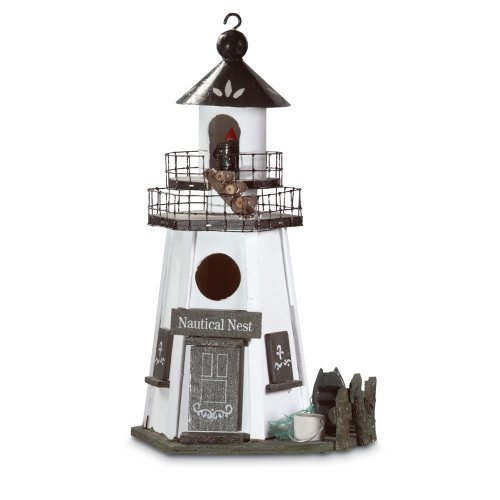 Smart Living Company Nautical Nest Birdhouse, Multi Colour