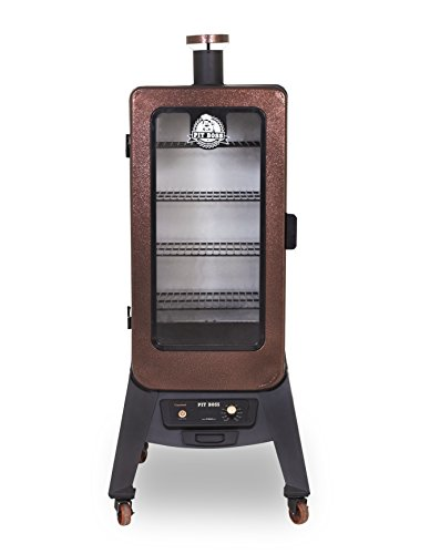 Pit Boss Grills PBV3P1 3-Series Wood Vertical Digital Pellet Smoker with Rear Hopper, Copper