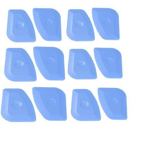 CARCAREZ Auto Window Tinting Vinyl Wrap Squeegee Tool for Sticker Decals Applicator & Window Film Install - 12 PCS