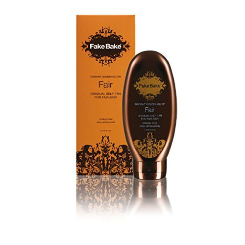 Radiant Self Tanner - Fake Bake Radiant Golden Glow Fair Gradual Self Tan Lotion 170ml / 6 fl.oz. by Fake Bake