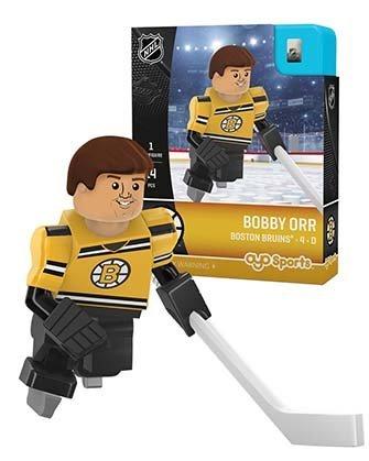- OYO Sports NHL Minifigure Boston Bruins Bobby Orr 50th Anniversary