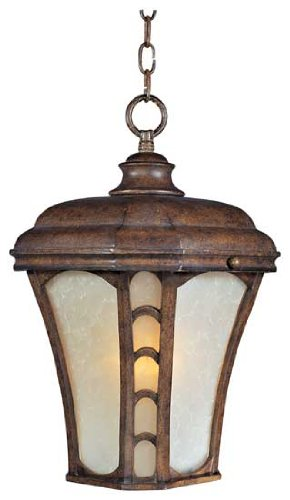 (Lake Shore VX Outdoor Hanging Lantern in Antique Pecan)