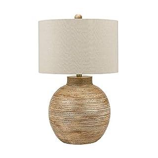 "MISC Resin Table Lamp Led Bulb Included 30.5"" 21014-001 Beige Nautical Coastal"