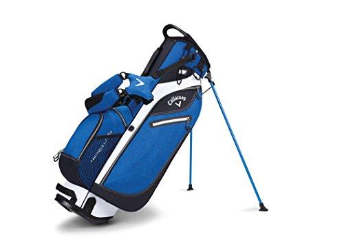 UPC 190228034724, Callaway Golf 2017 Hyperlite 3 Stand Bag, Double Strap, Blue/Black/White