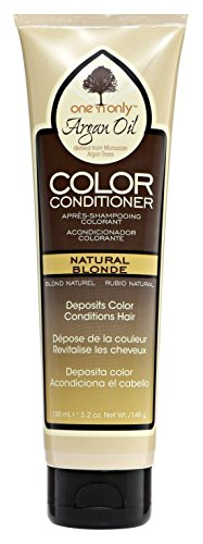 One N Only Argan Oil Condition Color Natural Blonde 5.2 Ounce (150ml) (Argan Oil Hair Color Medium Chocolate Brown)