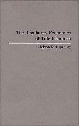 The Regulatory Economics of Title Insurance