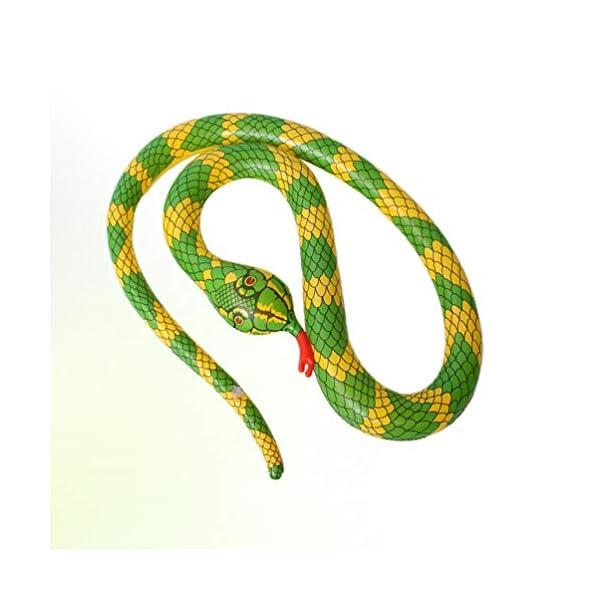 TOYANDONA Serpente Gonfiabile Galleggiante Gonfiabile Giocattolo Palloncino Serpente Spaventoso per Giardino Fattoria… 6 spesavip