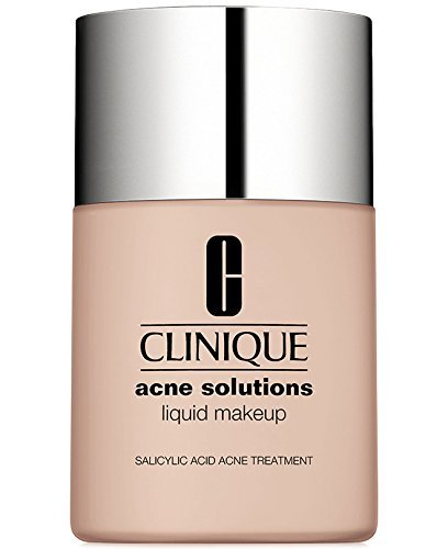 New! Clinique Acne Solutions Liquid Makeup, 1 oz / 30 ml, 01 Fresh Alabaster (VF-N)