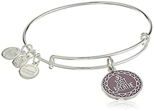 Alex and Ani Words are Poweful, Just Breathe Bangle Bracelet