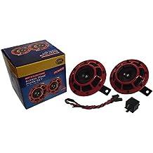 139DB Loud Super Tone Hella Horns Motorcycle Bike Car Grill Mount Kit 003399801