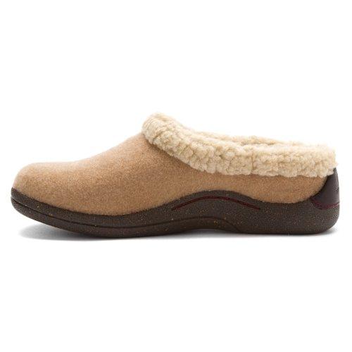Camel Brandi Fleece Drew Clogs Shoe Women's gTYncxTzqB
