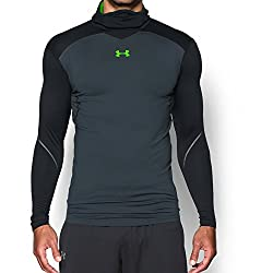 Under Armour Men's Coldgear Armour Elements Hoodie, Stealth Gray, Small