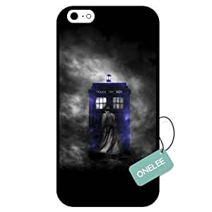 fashion case- Doctor Who Tardis Police Call Box iphone 4s Case & Cover - iphone 4s Case (TPU) - Black 1