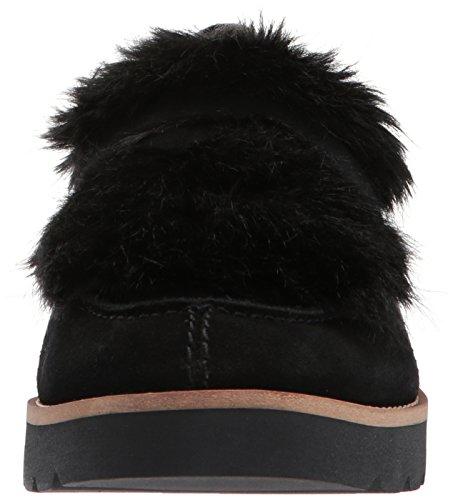 Franco Sarto Women's L-Harriet Loafer Flat Black ENbMF9