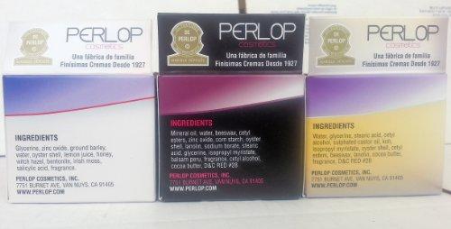 ConchaNacar De Perlop Cream Combo. Day, Night, Face Cream. Crema Natural 2 oz. (3 Pack). iwgl