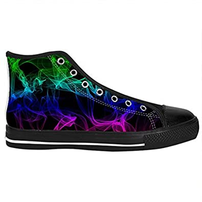 Daniel Turnai Fan Customized Color Light Abstract Smoke Top Canvas Shoes for Men