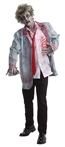 Forum Novelties UHC Men's Zombie Man Ghoulish Outfit Scary Horror Theme Halloween Costume, OS