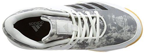 adidas Damen Ligra 5 W Volleyballschuhe weiß (Ftwbla/Plamet/Plamet)
