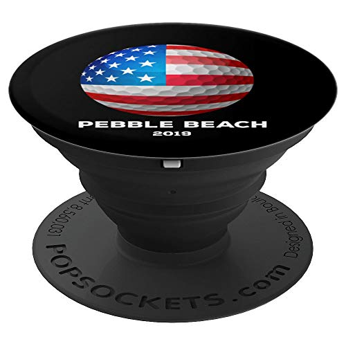 Pebble Beach American Golfer Fan Souvenir Mobile Accessory - PopSockets Grip and Stand for Phones and Tablets ()